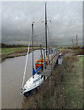 TA0623 : Barrow Haven at High Tide by David Wright