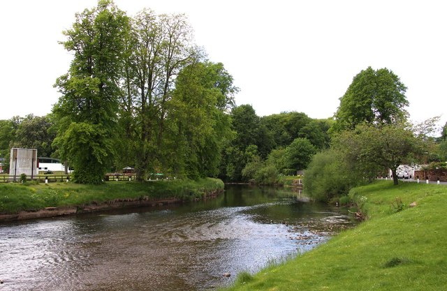 The River Eden at Appleby-in-Westmorland