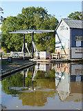 SJ5848 : Wrenbury Lift Bridge, Cheshire by Roger  Kidd