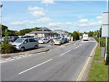 ST0207 : Cullompton motorway service area by Richard Law
