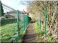 SE4114 : Public footpath to Tombridge Crescent by Christine Johnstone