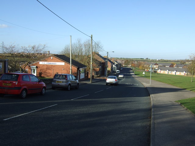 Front Street (A182), South Hetton