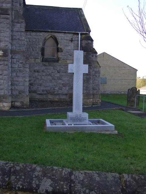 War Memorial, South Hetton
