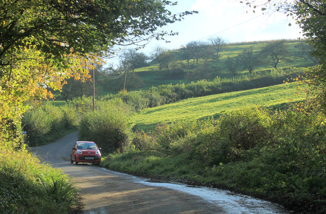 2012 : Junction of Vining's Hill and Portway Hill