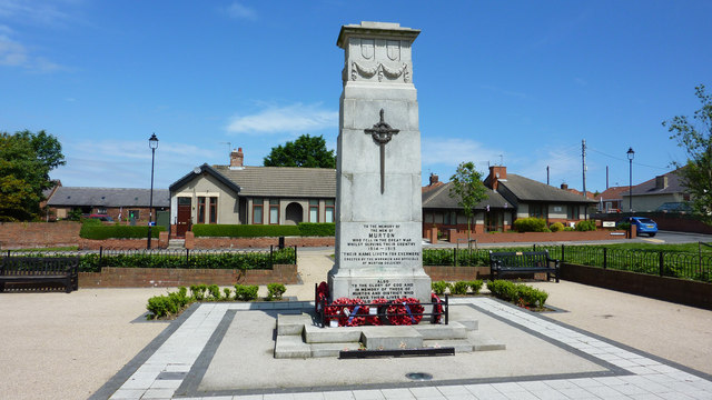 War Memorial, Murton