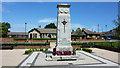 NZ3847 : War Memorial, Murton by Richard Cooke