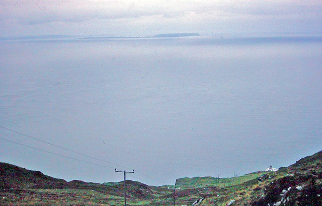 Across the North Channel from the Mull of Kintyre, 1977