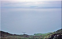 NR5808 : Across the North Channel from the Mull of Kintyre, 1977 by Ben Brooksbank
