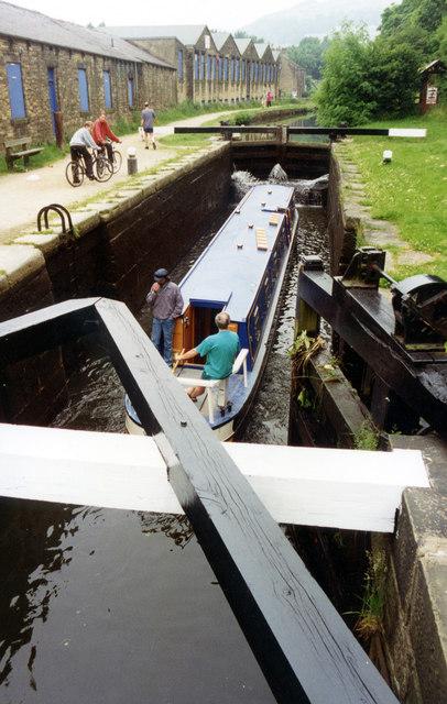 Mayroyd Lock 8 Rochdale Canal