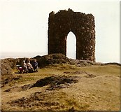 NT4999 : Lady's Tower, Sauchar Point, Elie by Elliott Simpson