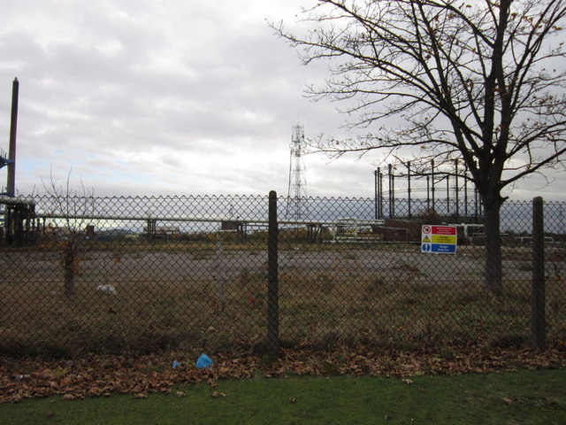 The former Clough Road gas works