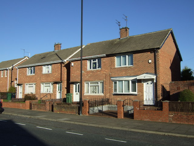 Houses on Allendale Road
