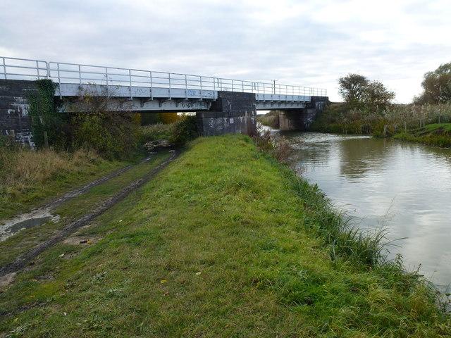 Railway bridges near Whittlesey