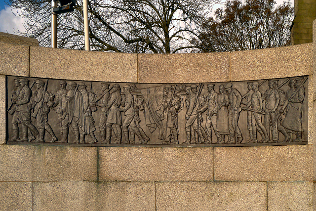 Bury War Memorial, The Armed Forces