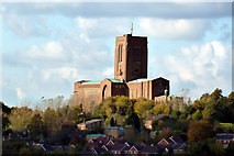 SU9850 : Guildford Cathedral by Robert Ashby