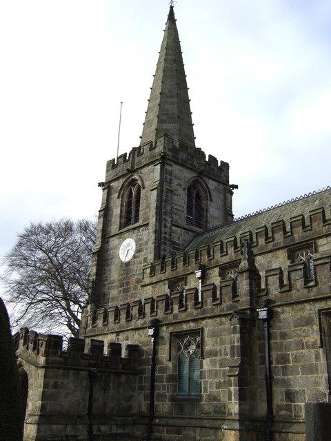 St Michael & All Angels church, Hathersage