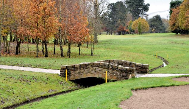 Footbridge, Ormeau Golf Club, Belfast