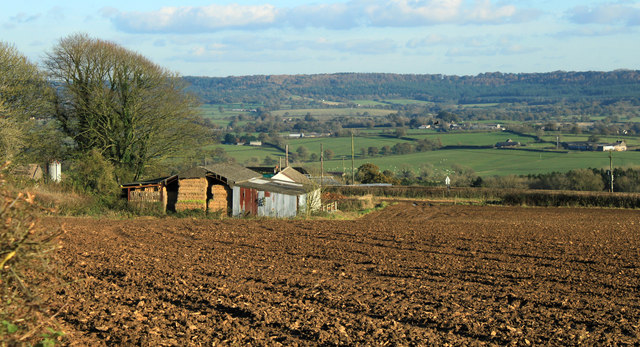 2012 : Farm buildings at Copplesbury Farm