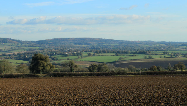 2012 : South east from Copplesbury Lane