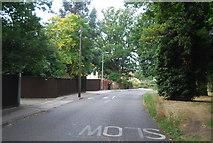TM1542 : Speed hump, Belstead Rd by N Chadwick