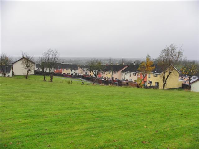 Grassed area, Castlebalfour Housing Estate
