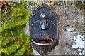 NN9161 : Drinking fountain, Tenandry by Jim Barton