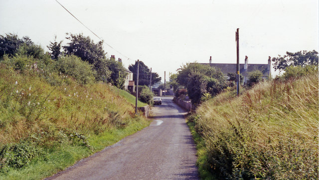 Site of Abbey Town station, 1991
