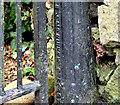 J3581 : Church gate, Whitehouse, Newtownabbey (2) by Albert Bridge