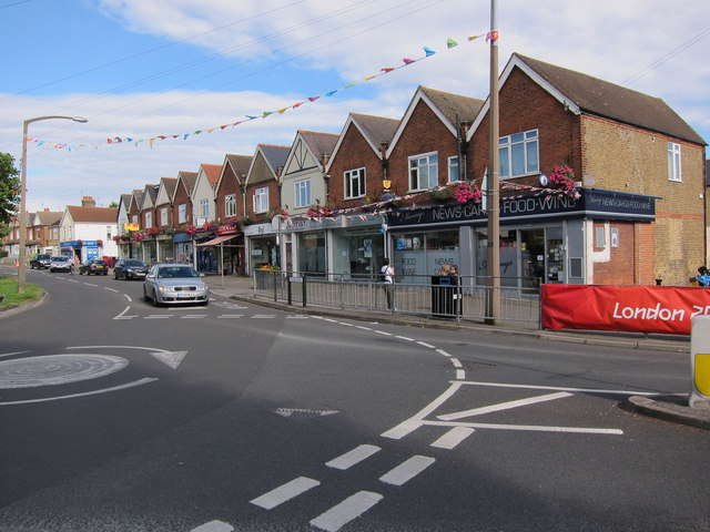 Shops on Fleece Road, Long Ditton
