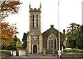 J3480 : St John's Church of Ireland, Whitehouse by Albert Bridge