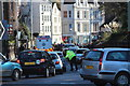 TQ8110 : Queue on Braybrooke Road by Oast House Archive