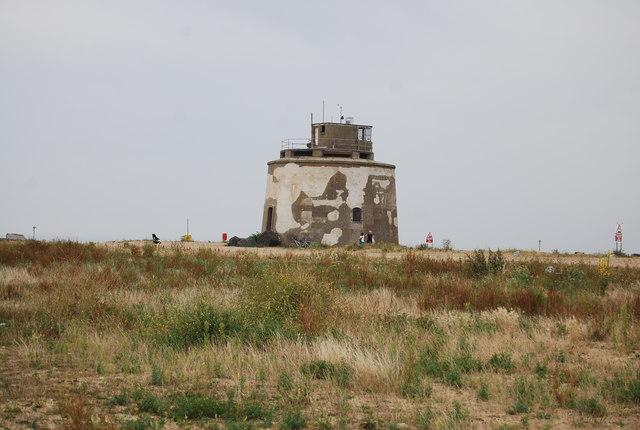 Martello Tower near Langney Point