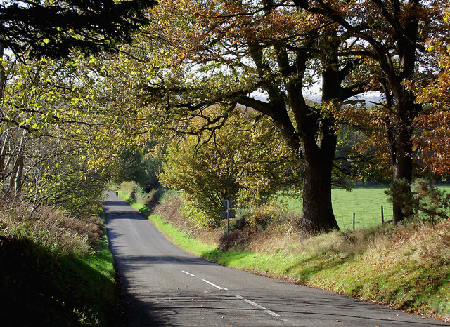 Camp Hill Road south of Swindon, Staffordshire