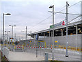 SJ8798 : Velopark Metrolink Station by David Dixon