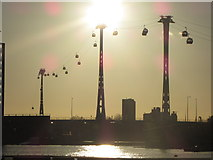 TQ4080 : Emirates Air Line, London Docklands by Gareth James