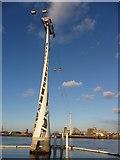 TQ3979 : Emirates Air Line, London Docklands by Gareth James