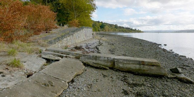 The shore at Shandon