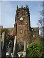 SJ4286 : St Peter's church, Woolton, Liverpool by Dave Kelly