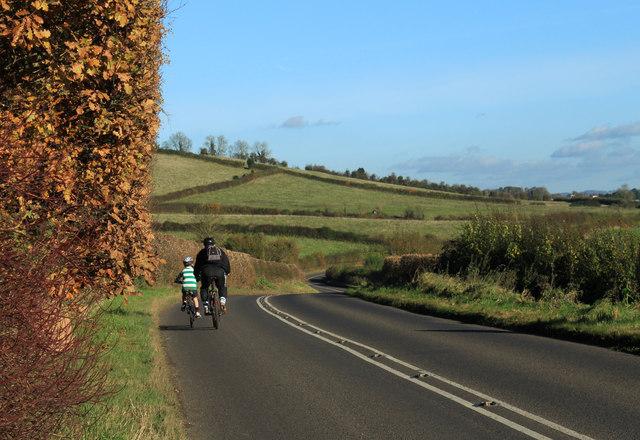 2012 : B3130 Stanton Road going east