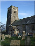 SS6138 : St Michael & All Angels church, Loxhore by Dave Kelly