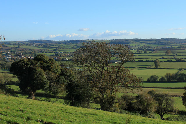 2012 : South south-east across the Chew Valley