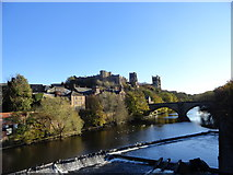 NZ2742 : View of the Castle and Cathedral at Durham by Robert Graham