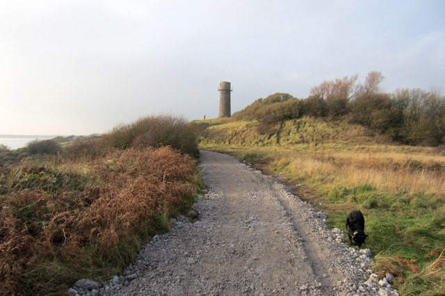 Resurfaced path to the Old Lighthouse