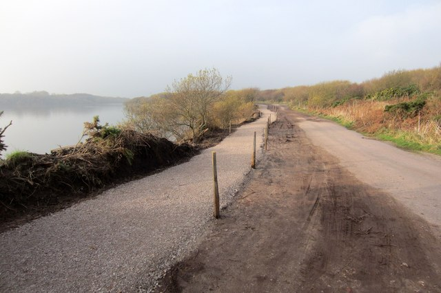 New footpath on the Nature Reserve