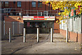 SK5445 : Entrance to Wilkinson, Bulwell by Stephen McKay