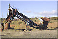 SO8392 : Quarry machinery near Halfpenny Green, Staffordshire by Roger  Kidd