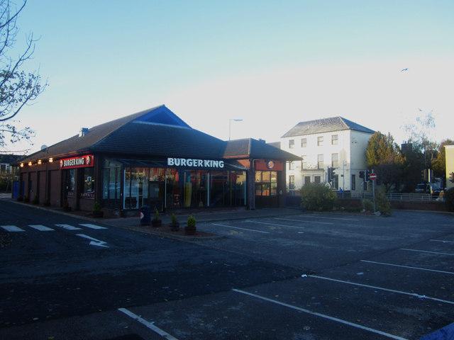 Burger King restaurant, St Nicholas Retail Park, Carlisle