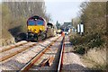 TF4959 : Grantham to Skegness Railway, Wainfleet by Dave Hitchborne