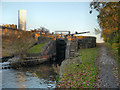 SJ8898 : Vinegar Lock, Ashton Canal by David Dixon