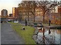 SJ8798 : Ashton Canal, Clayton Lock by David Dixon
